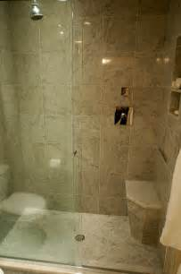 small bathroom with shower stall ideas