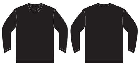 Black Long Sleeve Template Www Imgkid Com The Image Kid Has It Black Sleeve Shirt Template