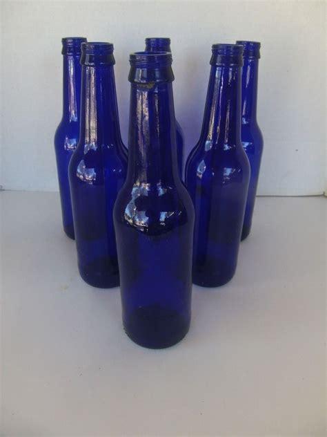 glass bottle crafts for 12 cobalt blue glass bottles for vases crafts bottle