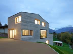 wood and concrete house design concrete house design