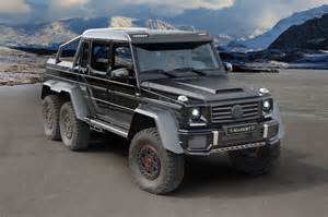 Mercedes Suv 6x6 Mansory Mercedes G63 Amg 6x6 Front Three Quarters Photo 2