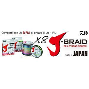 Tali Daiwa J Braid X8 Pe 8 1 j braid pe x8 150 mt daiwa caravan sport