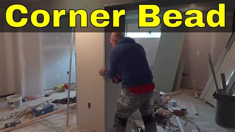 installing corner bead installing a corner bead diy outside drywall corner