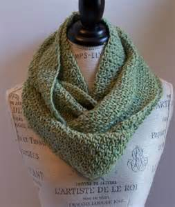 Easy Crochet Infinity Scarf Pattern Easy Infinity Scarf Crochet Pattern Allcrafts Free