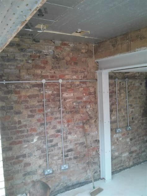 running electrical wire through brick walls wiring diagram