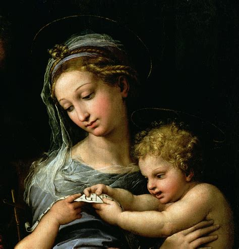 Home Decor Blogs Best by The Virgin Of The Rose Painting By Raphael