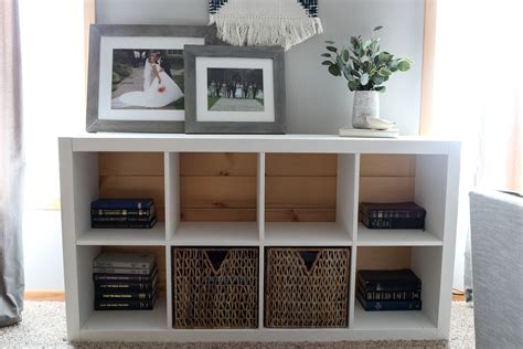 ikea bookshelf hack styling homestead 128