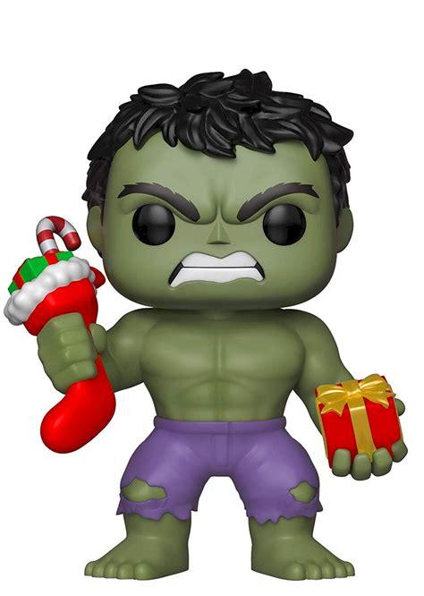marvel funko pop hulk holiday