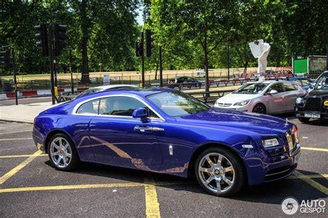 rolls royce wraith blue rolls royce wraith 11 july 2013 autogespot