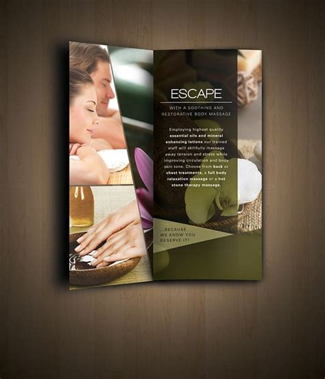 design flyer spa nav spa brochure design laka pinterest brochures and