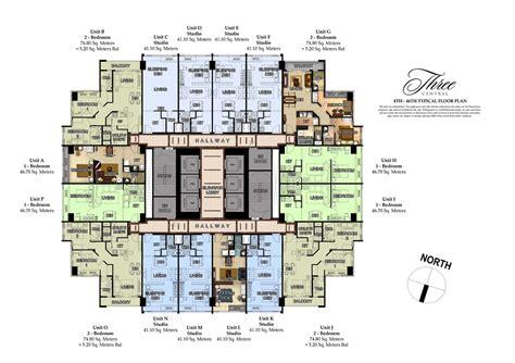 layout unit crossword megaworld properties three central at makati city