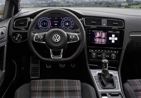 golf gti interni nuova volkswagen golf 2017