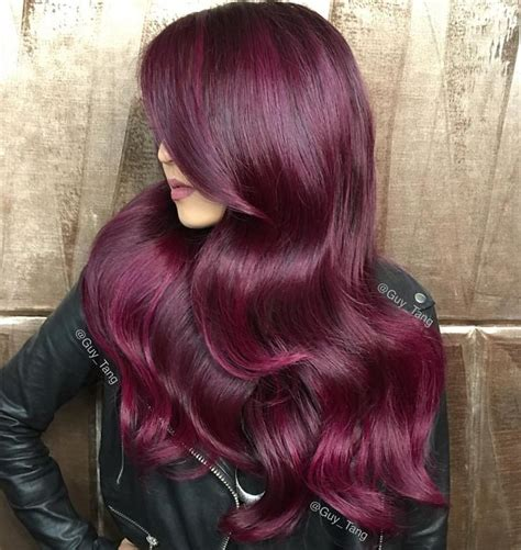 reddish purple hair color best 25 violet hair ideas on purple