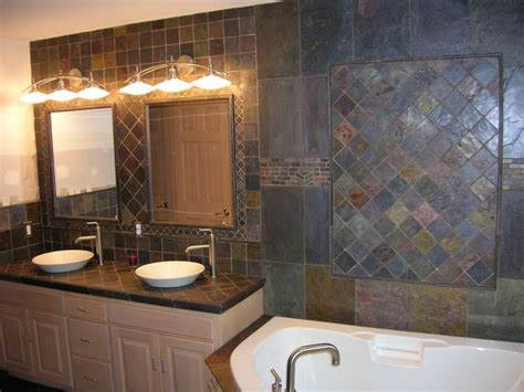 Bathroom Slate Tile Ideas Slate Flooring For Bathrooms Bathroom Floors