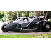 Real Life Batmobile Tumbler That Actually Drives  MIKESHOUTS