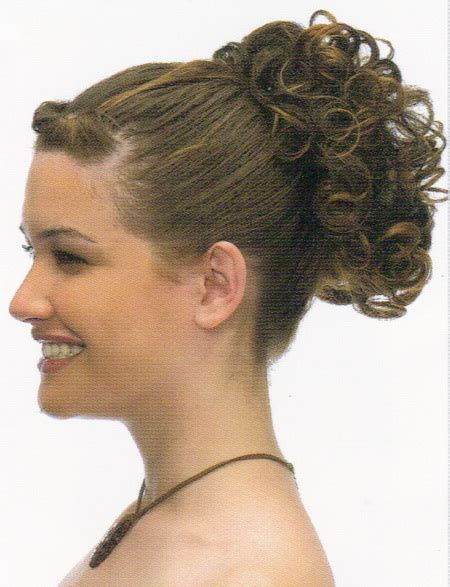 curly hairstyles in a ponytail charming short curly hair with bangs 2018 hairstyle for