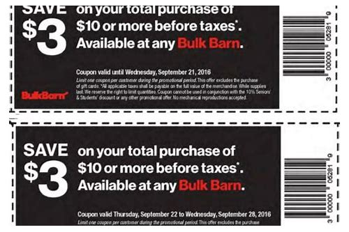 bulk barn coupon saskatchewan
