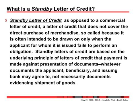 Letter Of Credit Workflow standby letter of credit docoments ojazlink