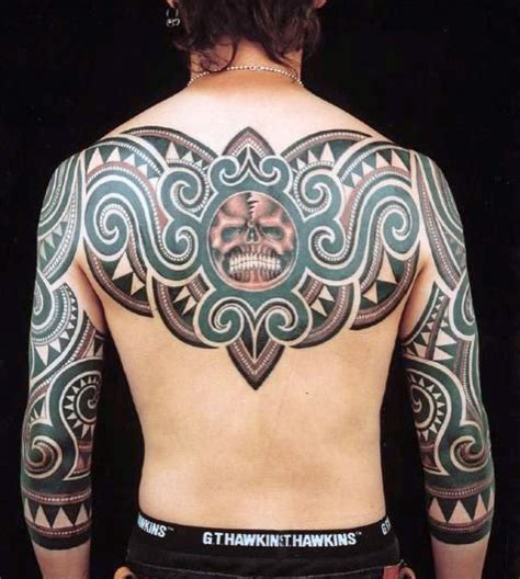 tattoo back tribal 60 tribal back tattoos for men bold masculine designs