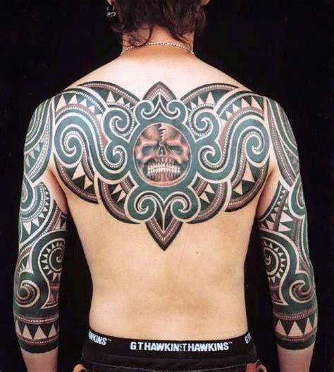 tribal tattoos for mens back 60 tribal back tattoos for bold masculine designs