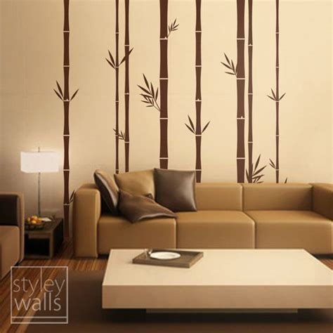 bamboo decorations home decor 25 best images about interiors wall paints on pinterest