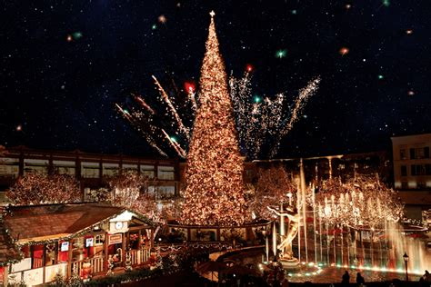 the grove christmas tree lighting 2017 the americana at brand christmas the americana at brand