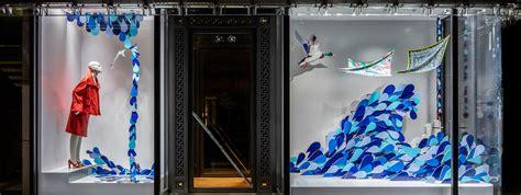 store window design isabelle da 235 ron window displays at herm 232 s ginza tokyo