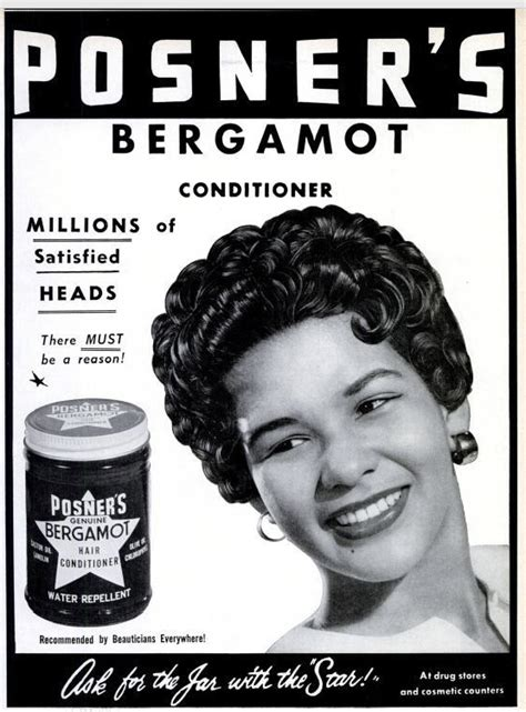 50s hairstyle research 1950 s product ad for posner s bergamot pc flicker