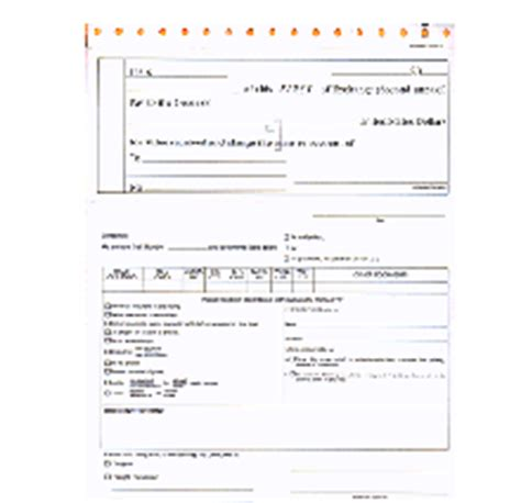Transmittal Letter Parts 4 part carbonless bank draft transmittal letter 4 part
