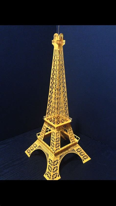 eiffel tower crafts for eiffel tower paper craft home decor