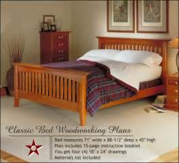 Bedroom Furniture Wood Plans Diy Mission Bed Plans Woodworking Plans Free