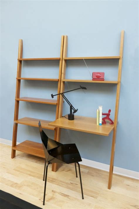 Leaning Bookcase And Desk by Linden Leaning Bookcase The Century House Wi