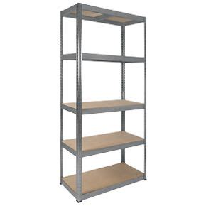 rb galvanised boltless freestanding shelving 5 tier