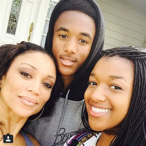 why did chante moore and kadeem hardison chante moore and her kids it s a family affair