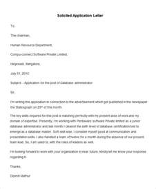 Application Letter Writing 55 Free Application Letter Templates Free Premium Templates