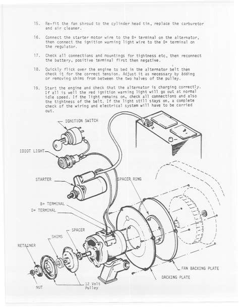 dune buggy wiring diagram alternator repair wiring scheme