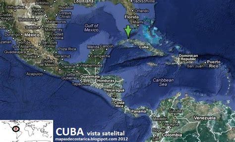 ver imagenes satelitales online cuba en centroamerica y el caribe vista satelital 2012
