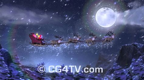 christmas 3d animations collection happy holidays stock