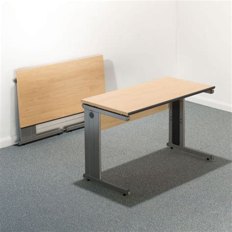 Straight Edge Desk 120x60 Folding Desk Healthy Workstations Folding Desk