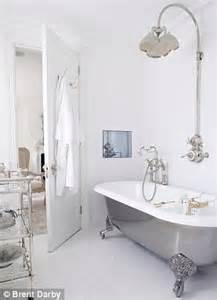interiors all white wow daily mail online customers stunning burlington hampton freestanding shower