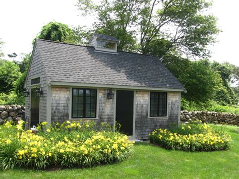 Paul Sheds by Westport Garden Cottage Rustic Garage And Shed