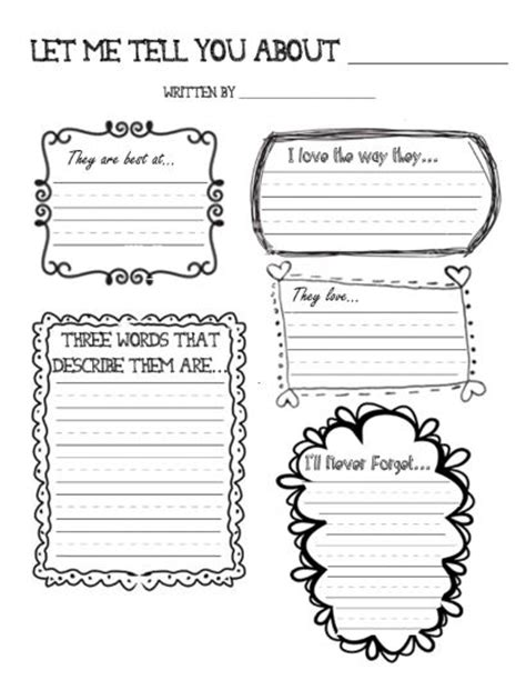 Memory Books With Free Printables Say So Long In Style Scholastic Free Printable Memory Book Templates