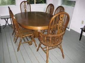 Oak Dining Room Table And Chairs 187 Dining Room Furniture Dartlist