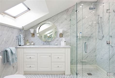 Hamptons Style Comes To A Sydney Apartment Bathroom Benchtops Sydney
