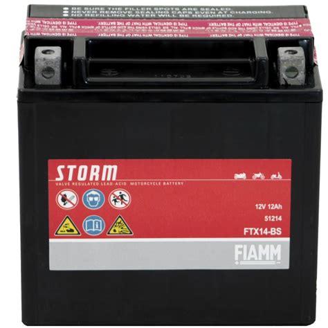 Motorradbatterie Gebraucht by Fiamm Ftx14 Bs 12v 12ah Agm Motorradbatterie