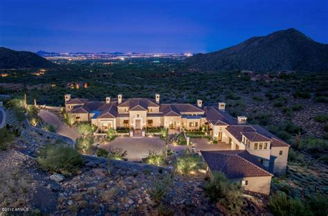Newly Built Spanish Style Mountaintop Mansion In