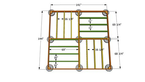 build a floor plan 12x12 shed floor plans square gazebo plans for the
