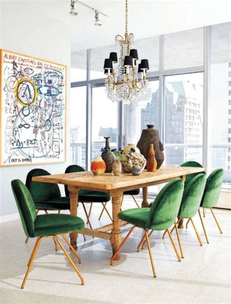 Eclectic Dining Room Chairs | 17 captivating eclectic dining room designs rilane