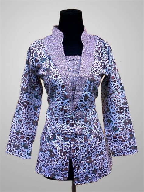 Baju Piyama Batik Modis model baju wanita dewasa 21 model baju batik modern wanita