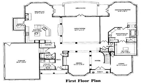 7 bedroom house plans bedrooms house plans